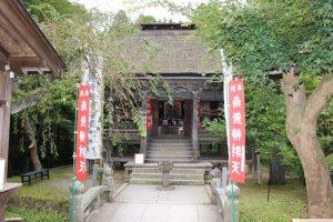 中尊寺の弁財天堂