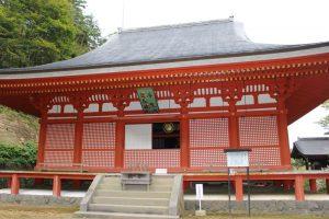 達谷西光寺の金堂