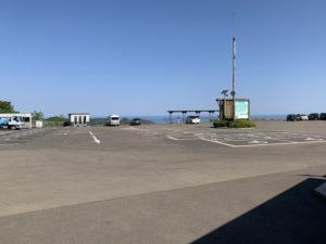 三方五湖レインボーラインの第1駐車場