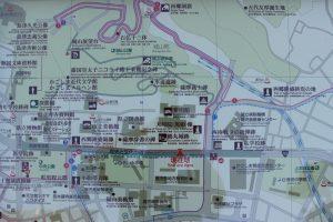 鶴丸城(鹿児島城)周辺の観光マップ