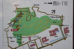 城山の遊歩道
