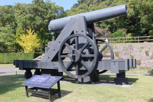 仙巌園の大砲