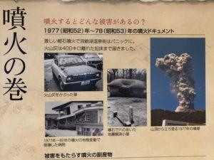 有珠山・噴火