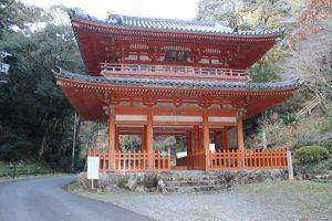 奥山方広寺の赤門(山門)