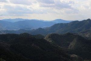 鳳来寺からの眺め