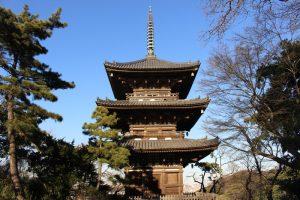 旧燈明寺三重塔