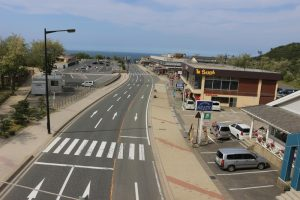 鳥取砂丘の駐車場