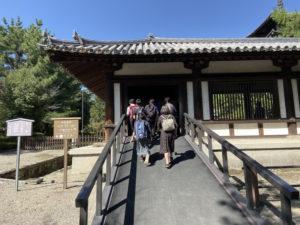 法隆寺 有料拝観入口