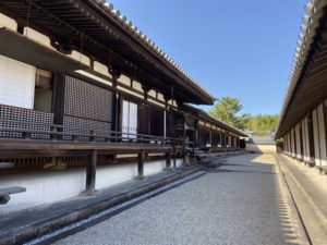 法隆寺・東室