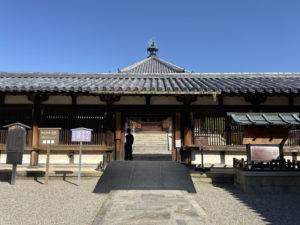 法隆寺東院廻廊
