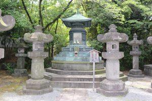 徳川家宣の墓