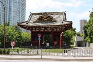 台徳院霊廟・惣門