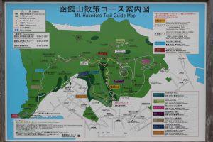 函館山ハイキングコース