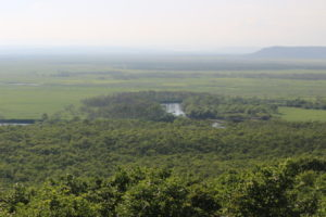 細岡展望台から釧路湿原