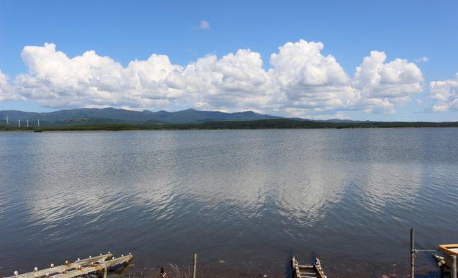 十三湖を望む展望台ベスト