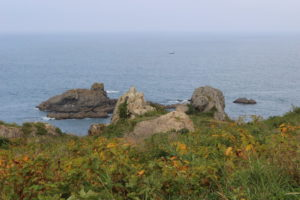 鮫角灯台からの展望