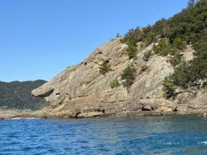 見残し海岸・しし岩