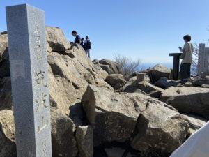 筑波山の女体山山頂