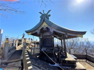 筑波山神社の女体山本殿