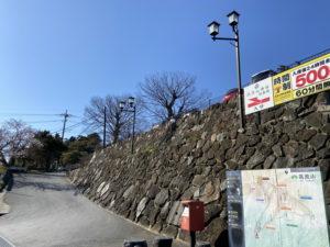 筑波山・大御堂の新しい駐車場