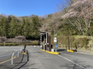 筑波山神社付近の有料駐車場