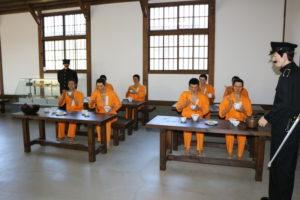 網走刑務所の食堂