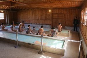 網走監獄の浴場