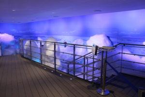 オホーツク流氷館の流氷