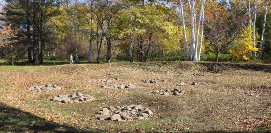 朱円周堤墓(朱円環状土籬)
