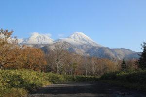 知床五湖からカムイワッカの滝
