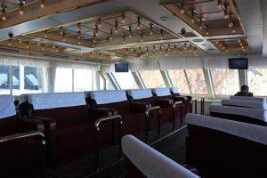 知床観光船の特別客室