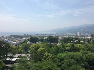 小田原城からの展望