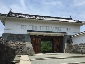 小田原城の銅門(あかがねもん)