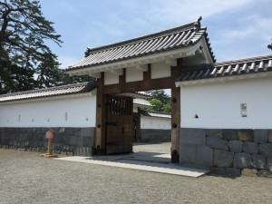 小田原城の馬出門(うまだしもん)