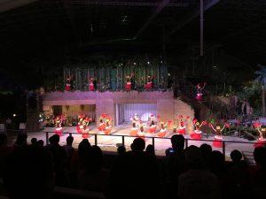 フラガールのショー