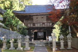 箸蔵寺・鐘楼堂