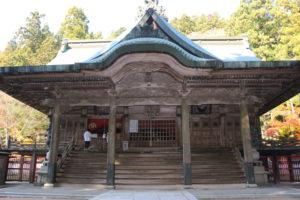 箸蔵寺の御本殿