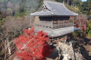 箸蔵寺の仁王門