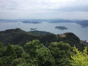 弥山からの展望
