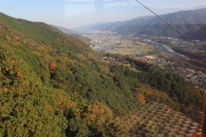 箸蔵山ロープウェイからの展望