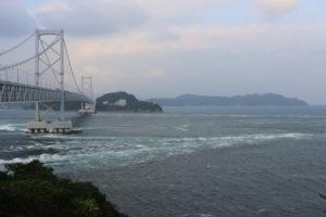 鳴門海峡の大鳴門橋