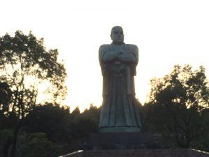 西郷公園の西郷隆盛像