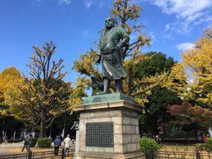 上野・西郷隆盛銅像