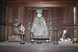 釈迦堂守護神
