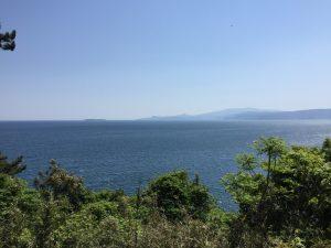 真鶴半島からの展望