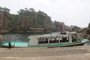 尖閣湾・遊覧船