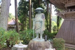 弘法大師(空海)の像