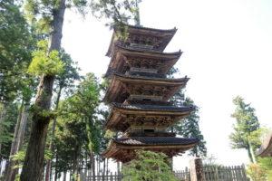 妙宣寺・五重塔