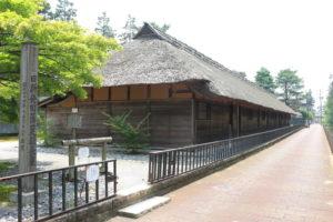 新発田藩の足軽長屋