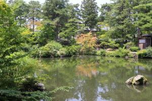 清水園の庭園